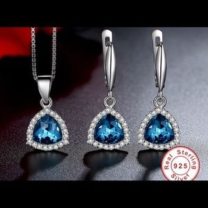 Jewelry - 🛑54% OFF⁉️Sterling Silver Crystal Vintage